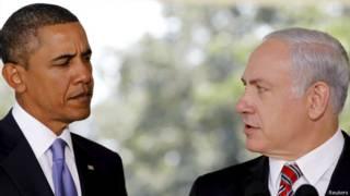 Барак Обама (слева) и Биньямин Нетаньяху