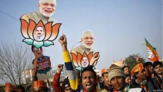 नरेंद्र मोदी, भाजपा के समर्थक