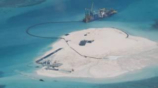 Navio chinês aterra barreira de corais (Foto: AP)