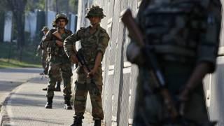 भारत प्रशासित जम्मू-कश्मीर में तैनात सुरक्षा बल