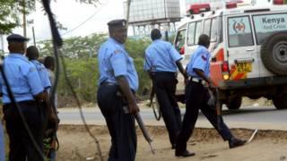 Кенийские полицейские