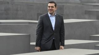 Алексис Ципрас в Музее холокоста в Берлине