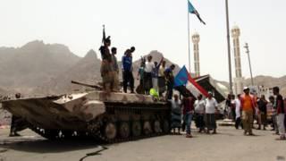 Ополченцы в Йемене
