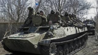 Повстанцы на востоке Украины