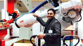 वेंकट राज, भारतीय स्टूडेंट जर्मनी में