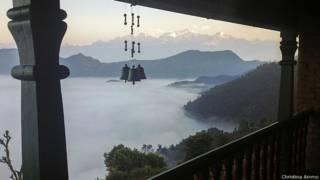 Вид на горы Непала