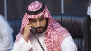 सऊदी अरब के रक्षा मंत्री प्रिंस मोहम्मद बिन सलमान