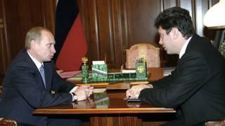 Путин и Немцов в 2000 году
