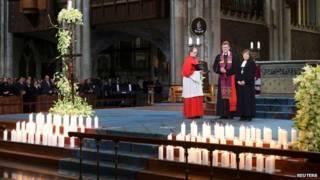 Служба в Кельнском соборе