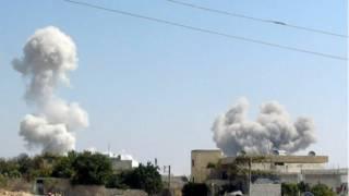 सीरिया में हमले तेज़