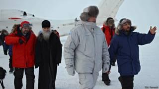 Рогозин в Арктике