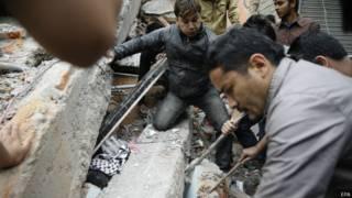 नेपाल में भूकंप से हुई भारी तबाही