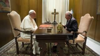 पोप फ़्रांसिस, राउल कास्त्रो