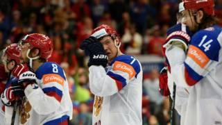 Россия хоккей Овечкин Куликов Тихонов