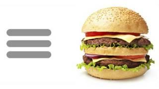 Ícone do hambúrguer