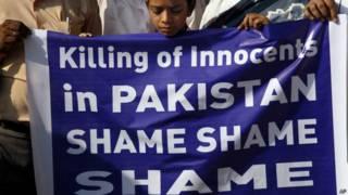 पाकिस्तान, कराची बस हमले का विरोध