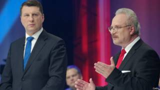 Кандидаты на пост президента Латвии