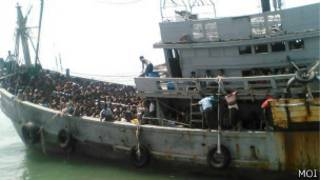 Boat People seized by Burmese governnment