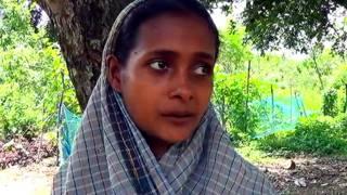 आदिवासी महिला सीमा तांती जिसने ग़रीबी के कारण अपना नवजात बच्चा बेच दिया