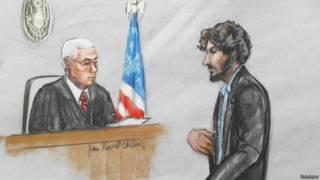 Царнаев в суде