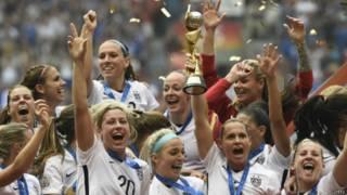 अमरीकी महिला फ़ुटबॉल टीम