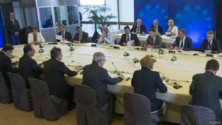 زعماء اوروبا يجتمعون