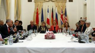 ویانا میں ایران کے ساتھ جوہری مذاکرات میں شامل وزرائے خارجہ