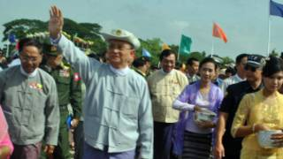 Burmese President U Thein