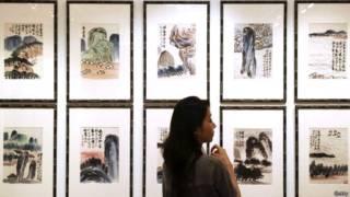 चीनी पेंटिंग प्रदर्शनी