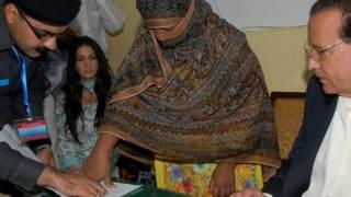 asia bibi signing petion