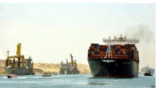 Пробное плавание по второй очереди Суэцкого канала 25 июля 2015 г.