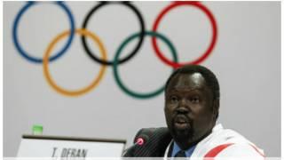 Mwakilishi wa Sudan Kusini katika kamati ya Olimpiki
