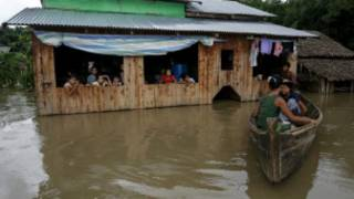 Floods in Zalun