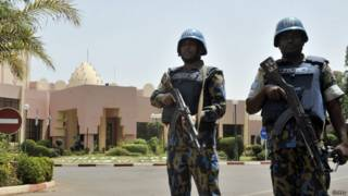 माली में सुरक्षा बल