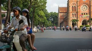 Đường phố thành phố Hồ Chí Minh