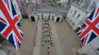 Плац-парад в Лондоне
