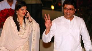 राज ठाकरे और शर्मिला ठाकरे
