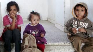 यमन के बच्चे