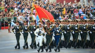Репетиция парада на площади Таньаньмэнь