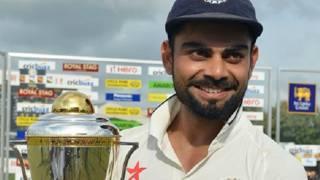 विराट कोहली भारत के कप्तान