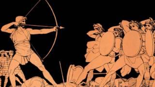 Una escena en la antigua Grecia