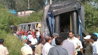 कालका ट्रेन हादसा