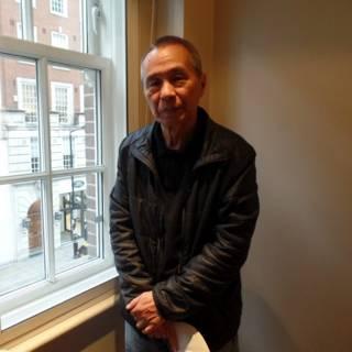 侯孝贤导演在伦敦接受BBC英伦网专访(摄影:子川)