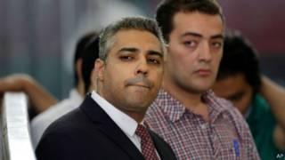 Mohamed Fahmy na Baher Mohamed