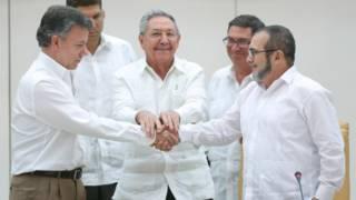 ujumbe wa serikali na waasi wa FARC