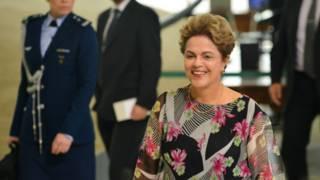 Dilma em evento (Foto: José Cruz/Ag. Brasil)