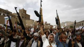 यमन के हूती विद्रोही