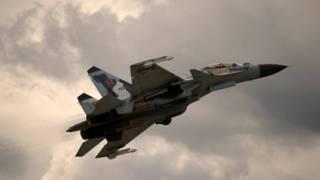 Avión de combate ruso Su-30