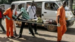 Jeruhi apelekwa hospitali katika ghasia za karibuni Bangui, Jamhuri ya Afrika ya Kati
