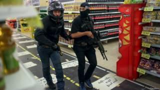 इसराइली सुरक्षाकर्मी